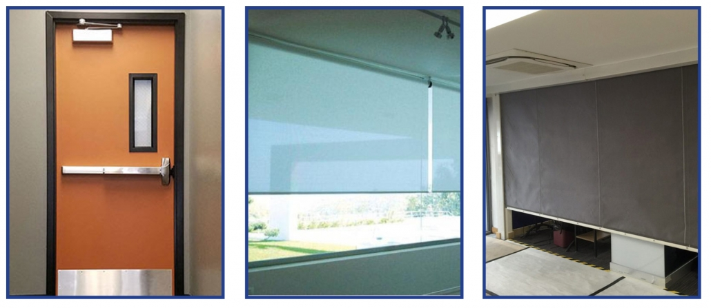 fire rated doors shutters curtains